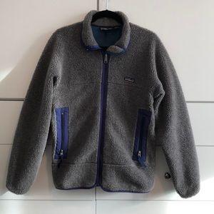 Patagonia Vintage 90's PEF Fleece Pile Zip Jacket